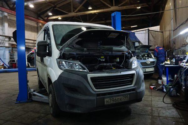 Техцентр AFDM ремзона - ремонт фиат дукато